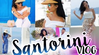 SANTORINI TRAVEL DIARY | Honeymoon Vlog | TRAVEL GUIDE | #irenesarahtravels
