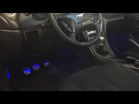 Ambient Lighting For Your 99-04 Mustang!