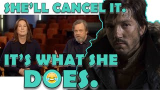 """LUCASFILM STAR WARS CANCELS BOBA FETT, OBI WAN, AND ADDS """"CASSIAN ANDOR"""" SHOW TO STREAMING NETWORK!"""