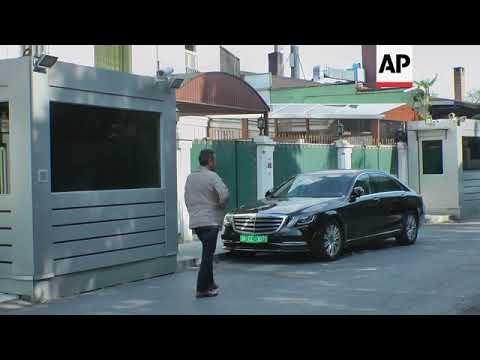 Scenes outside Saudi consul\'s home in Istanbul