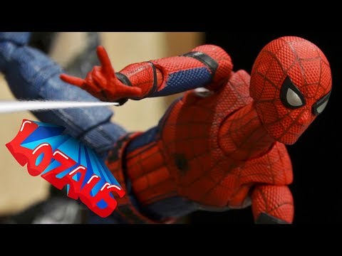 SPIDERMAN STOP MOTION Action Video Part 17 Trailer