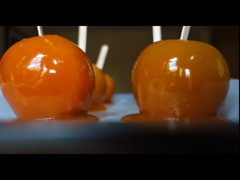 Easy Caramel Apples With Kit! DIY :) (Cooking With Music)
