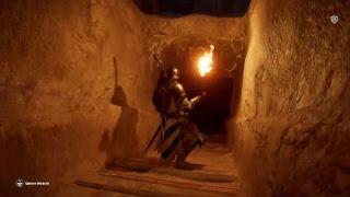 Menkaura Tomb Clay Plate. Гробница Менкаура Глиняная табличка Assassin's Creed Origins Тайный проход