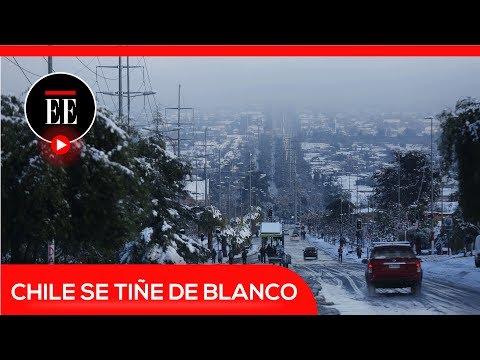 Santiago de Chile es afectada por la mayor nevada de la última década | El Espectador