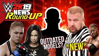 WWE 2K19: SPECIAL GUEST REFEREE MATCH CONFIRMED!, NEW Match Type, OUTDATED Models (WWE2K19 Round-Up)