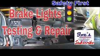 2000 Civic No Brake Lights
