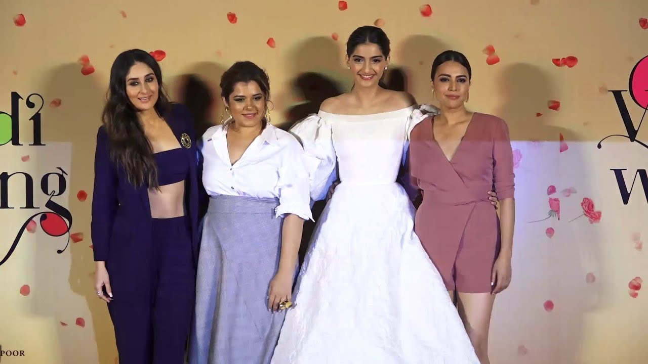 Veere Di Wedding Cast.Trailer Launch Of Veere Di Wedding With The Cast Crew