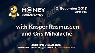 WhalePool Interview: Bitfinex's new algorithmic trading client honey framework Nov/2018