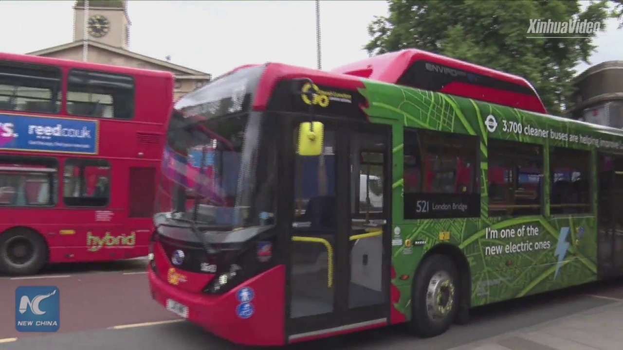 china pissing Environment-friendly,Chinese electric bus welcomed in London