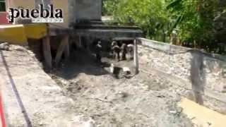 7 muertos deja tromba en Huehuetlán El Grande, Puebla