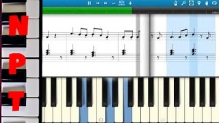 The Hanging Tree - Sheet Music Piano Tutorial - Jennifer Lawrence - The Hunger Games Mockingjay