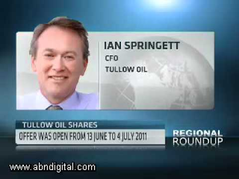 Tullow Oils Shares with Ian Springett