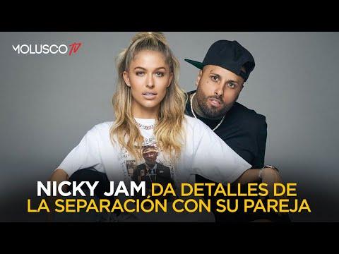 Nicky Jam le da detalles a Molusco que jamas había dado de la separación de su pareja