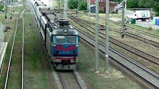 Ух, напесочил! ЧС4-055 с поездом №45 Ужгород - Лисичанск