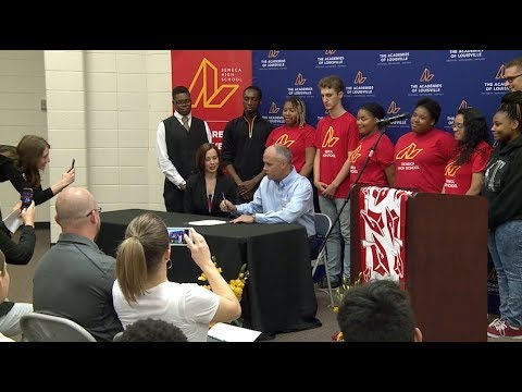 Seneca High School – KFC Partnership Signing Day