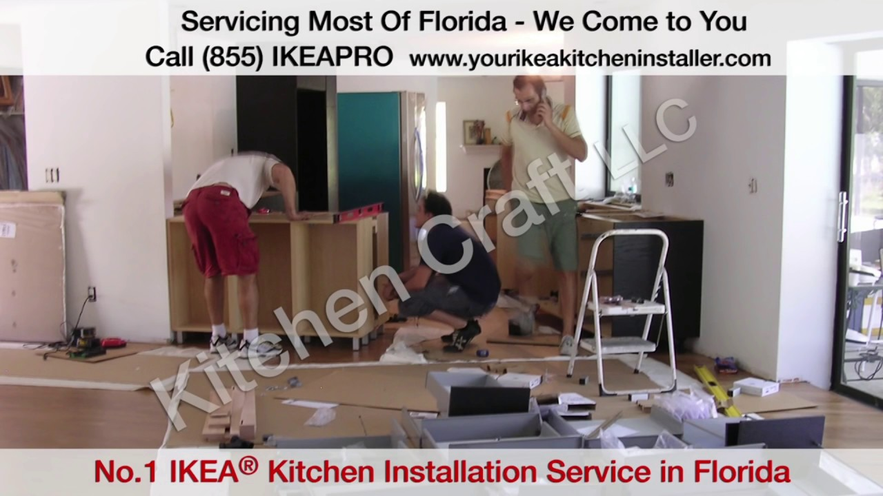 Ikea Kitchen Cabinet Installers - YouTube