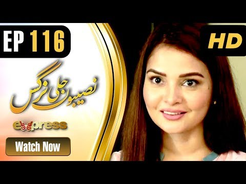 Naseebon Jali Nargis - Episode 116 - Express Entertainment Dramas
