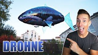 LUSTIG ODER SCHROTT DIE PARTY DROHNE? | Fliegender RC Hai & Fisch Review - Unboxing [Deutsch/German]