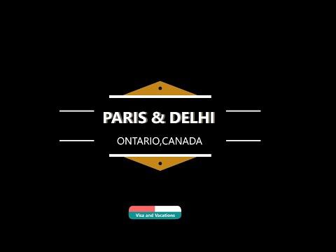 Paris and Delhi I Towns of Ontario I Canada
