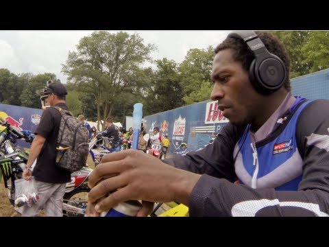 GoPro HD: James Stewart Full Moto 2 - RedBud MX Lucas Oil Pro Motocross Championship 2013