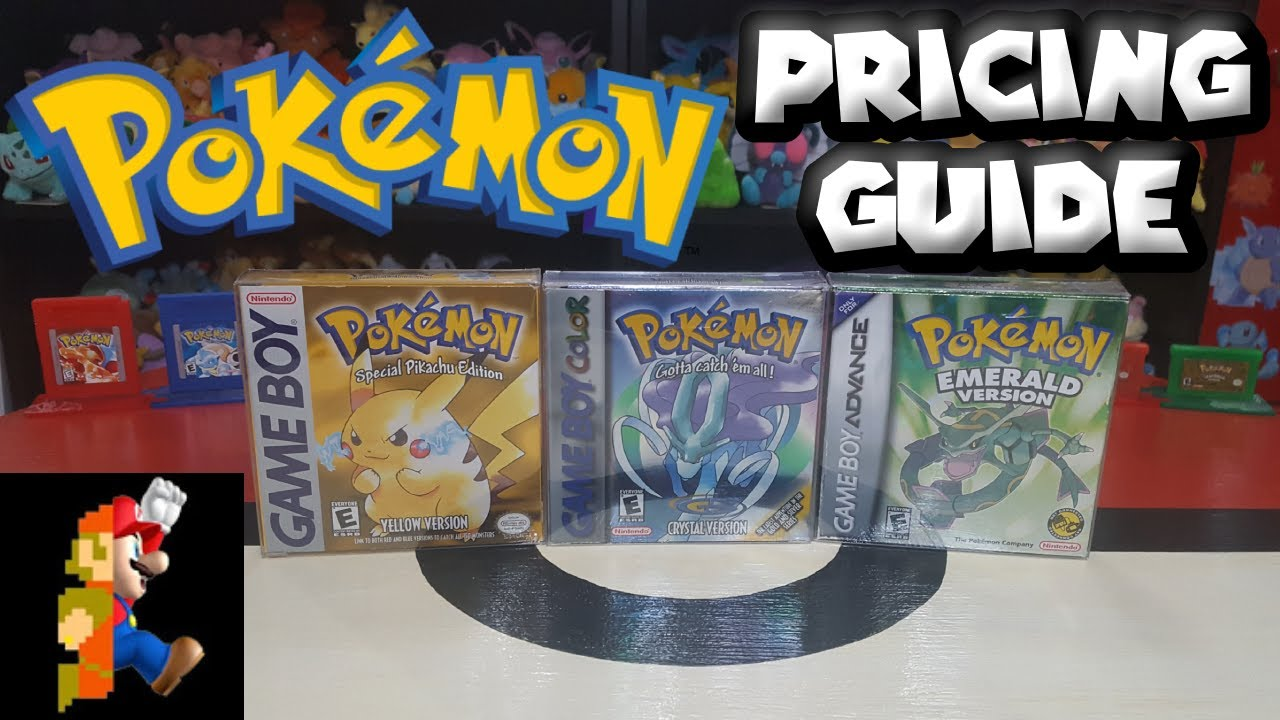 Pokémon Game Prices are CRAZY! Pricing Guide 2020