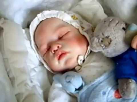 Кукла-малышка как живая, реборн. Модл Cianne by Romie Strydom. Художник Alla Cox.