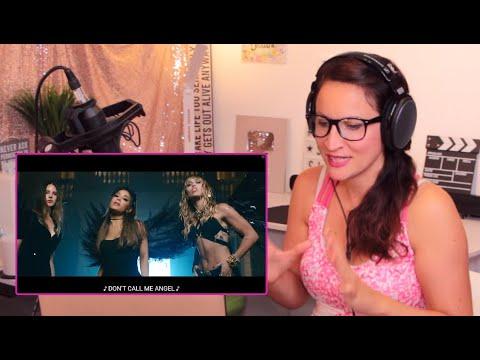 Vocal Coach Reacts! -Ariana Grande, Miley Cyrus, Lana Del Rey – Don't Call Me Angel