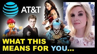 AT&T Time Warner Merger APPROVED - Warner Bros, DCEU