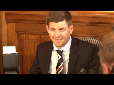 Steven Gerrard First Full Press Conference As He's Unveiled As Rangers Manager