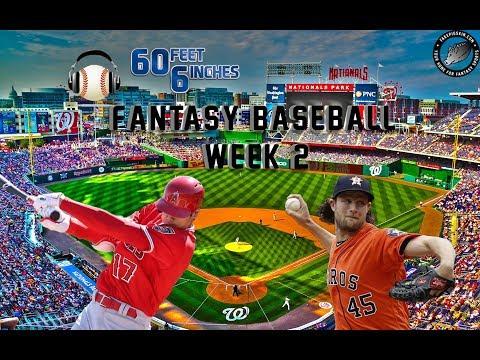 60 Feet 6 Inches: Fantasy Baseball Week 2 Preview