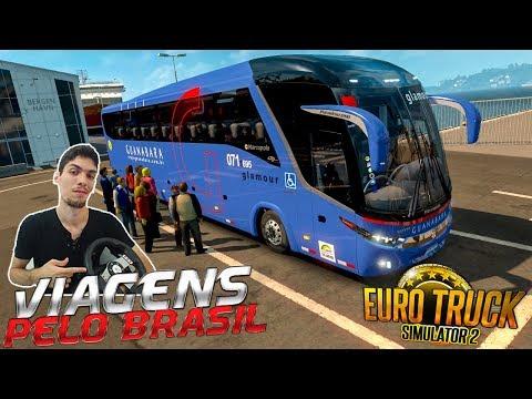 Viajando Pelo Brasil Ônibus Expresso Guanabara G7-1200 Teresina-PI\São Luís-MA Euro Truck2 com G27!