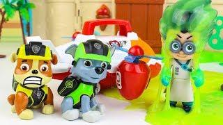 Щенячий патруль новые серии Развивающие мультики про машинки Игрушки Герои в масках Видео для детей
