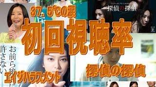 2015年7月9日に開始したドラマ エイジハラスメント、37.5℃の涙、探...