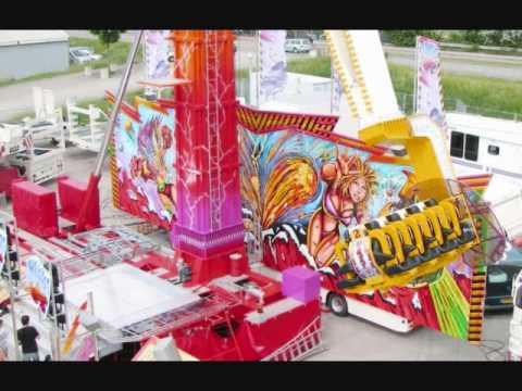 Los Mejores Juegos Mecanicos Y Ferias 2011 Youtube