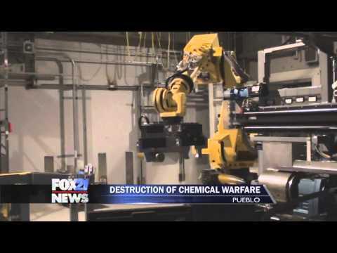 Explosive technology assists in Pueblo munitions destruction