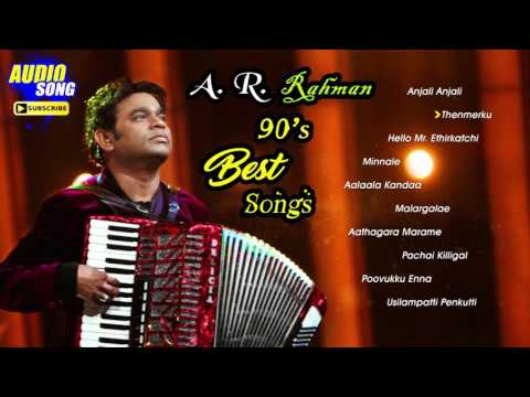 AR Rahman 90's Tamil Hit Songs | Audio Jukebox | AR Rahman Non Stop Tamil Songs | Music Master
