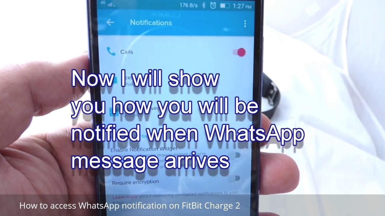 whatsapp mit fitbit versa verbinden