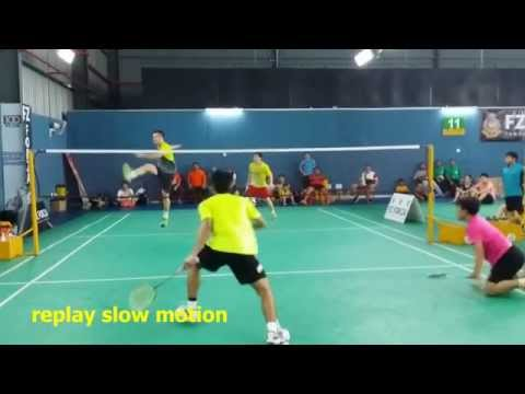 FZ Forza - ATM Badminton Challenge June 2014 Day 3 (MD Rd 2 Lim FY/Tay KY Vs...)