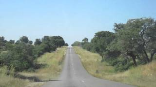 Victoria Falls to Bulawayo road