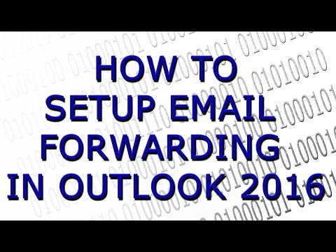 Setting Up An Email Forwarding Rule In Outlook
