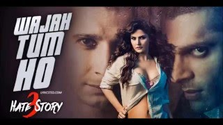 Waja Tum Ho, Karaoke With Lyrics - Hate Story 3,,