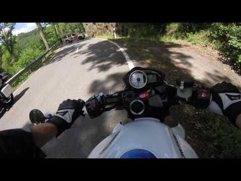 Motorcycle weekend in wallonië (Belgium) kawasaki z750