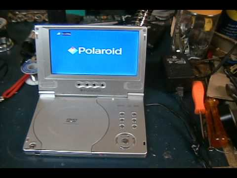 polaroid portable dvd player repair