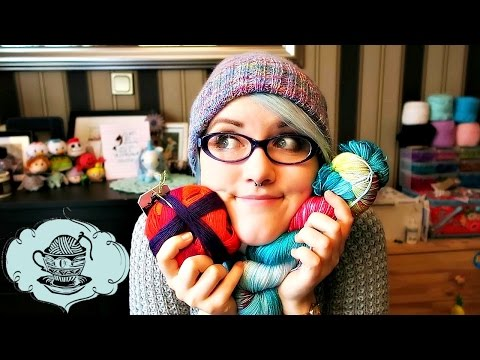 Souvenir Yarn, Sock Knitting and Holidays! // Craftea Chat // ¦ The Corner of Craft