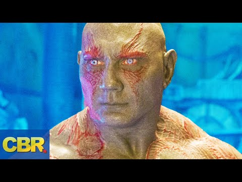 What Nobody Realized About Drax The Destroyer In Marvel's Infinity War And Guardians Of The Galaxy