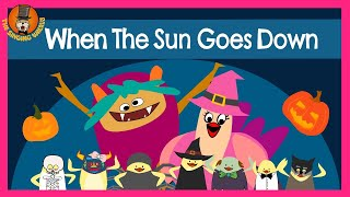 The Singing Walrus | Halloween Songs | When the Sun Goes Down | Phonics Song