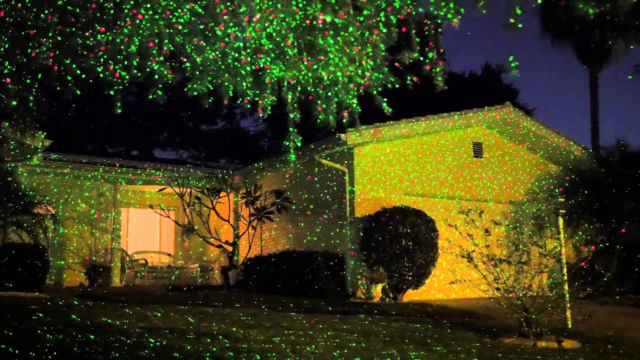 Star Shower Outdoor Laser Christmas Lights Star Projector.Star Shower Shower Your Home With Thousands Of Dazzling Lights