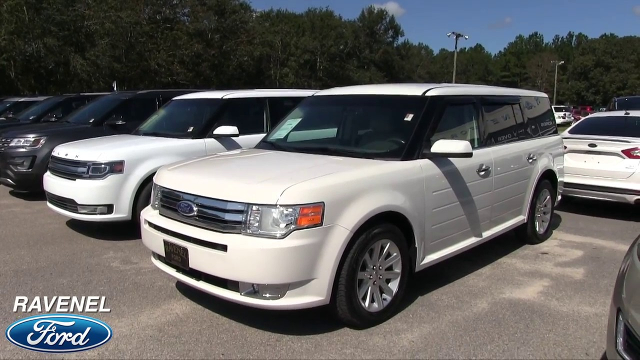Here s a review of the 2012 ford flex sel for sale condition report at ravenel ford