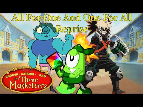 """Download Booger, Katsuki, and Rad: The Three Musketeers Part 17 - """"All For One And One For All Reprise"""""""
