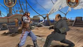 Game PS2 for Pc. Swashbuckler blue vs grey.(victory)